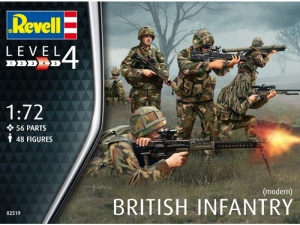 Обзор набора Revell British Infantry в масштабе 1/72