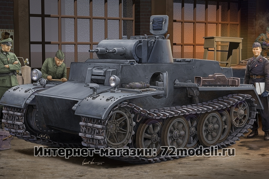 German Pz.kpfw.I Ausf.F (VK18.01)-Early